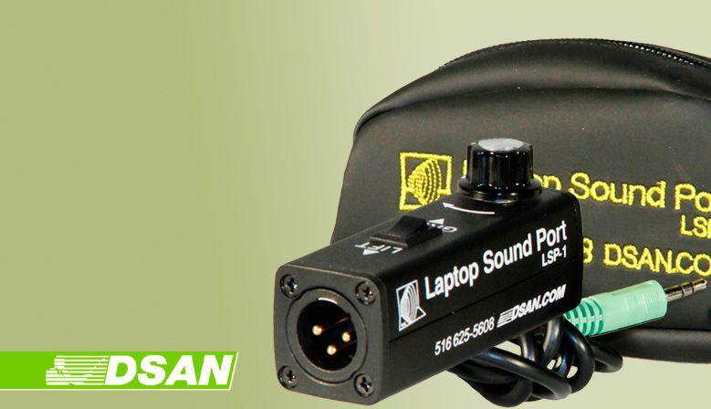 DSAN Laptop Sound Port