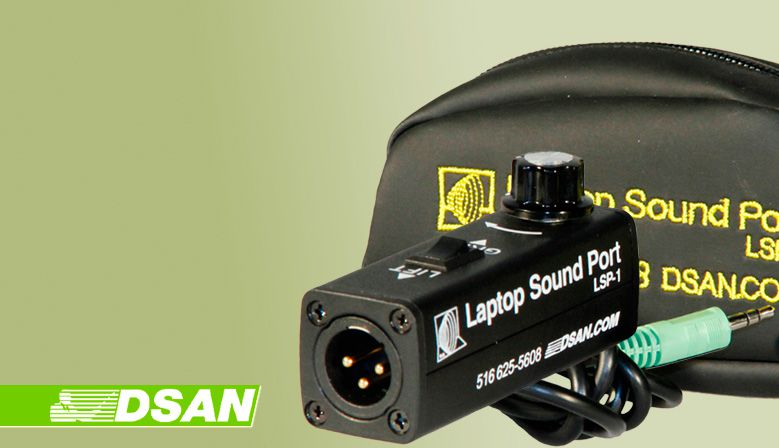 DSAN Laptop Sound Port